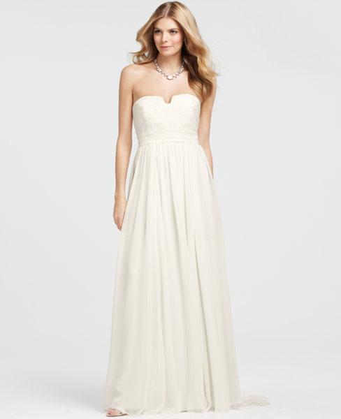 White House Black Market Ann Taylor Wedding Dresses Bridesmaids Bebe Bridal