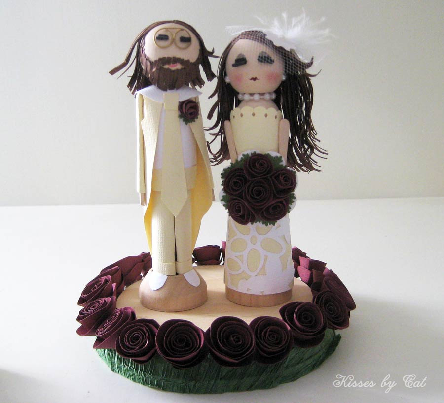 wedding cake toppers custom custom wedding cake topper stephanieteagueeventsblog 8819