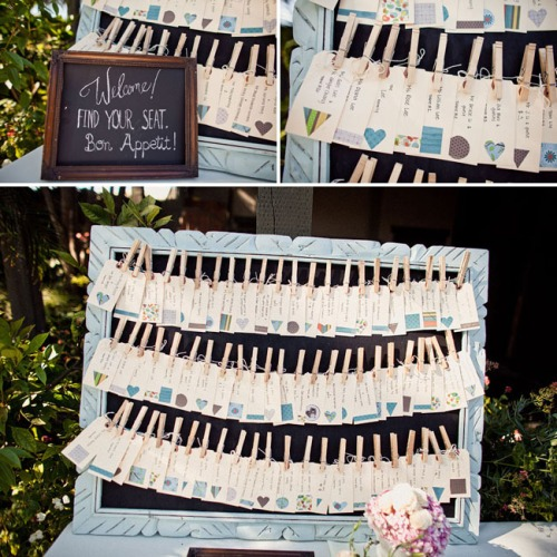 Creative Wedding Place Card Ideas: Stephanieteagueeventsblog