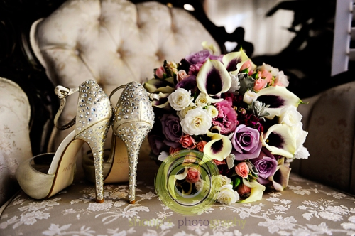 Elk Grove Wedding Shoes Bouquet